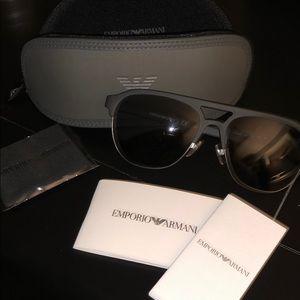 Emporio Armani Sunglasses plus case & cloth